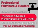 Thomsons Advanced Plumbing Services Ltd logo