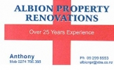 Albion Property Renovations logo