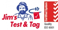 Jim's Test & Tag logo