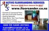 Active Floorsanding Services ltd logo