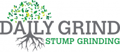 Daily Grind Stump Grinding logo