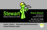 Stewart Building & Maintenance Works logo