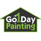 Go 1 Day Painting logo