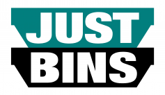 Just Bins logo