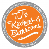 TJ's Kitchens & Bathrooms logo