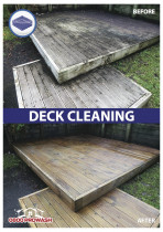 Deck cleaning - Soft wash of deck surfaces
