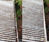 Gutter clean by 0800 Pro Wash - Titirangi gutter clean