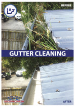 Gutter cleaning - Autumn is the time for cleaning your guttering.