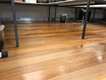 Commercial Flood Damage - Water damage to wooden floors