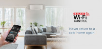 Mitsubishi Electric AC with Wifi - NZ quietest heat pump / AC with built in wifi.
