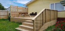 Outdoor deck extension - perfect for summer BBQs
