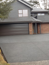 Exposed aggregate by Advanced Concrete