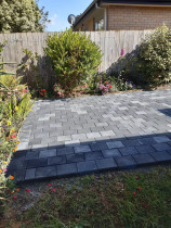Cobble pavers by Advanced Concrete