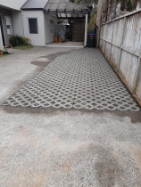 Turf Blocks with pebbles by Advanced Concrete