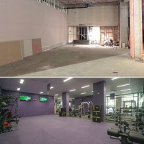 Air Mc complete another Anytime Fitness in Wyndham Street - Another Anytime Fitness Gym fully equipped with fresh air, fresh air system, extract system, Panasonic VRV, 6 cassettes and 2 highwalls...keeping the fit people of Auckland CBD cool 