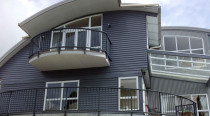 house in Browns bay completed by Atlantic Painting Ltd (North Shore)