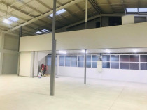 Billy Boy in Action, Large hall painted in New Lynn, Auckland - The Billy Boy in Action team came together to make this place a new home for a new business, now they are able to work in a clean and fresh environment