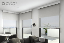 Light-filtering Roller Blinds - Create privacy with soft ambient light with Light-filtering Roller blinds from Blinds Online Ltd, Auckland & NZ wide.