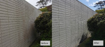 Concrete Wall Wash - Cleanse Right concrete wall clean in North Shore