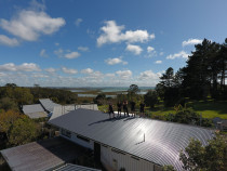 Beautiful day for a re-roof in sunny Auckland - Check out some of our great work re-roofing and installing roofing for new builds on our website www.completeroofingsolutions.co.nz