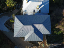 Aerial shot - perfect job every time - Check out some of our great work re-roofing and installing roofing for new builds on our website www.completeroofingsolutions.co.nz