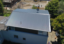 Aerial shot of another beautiful re-roof - Check out some of our great work re-roofing and installing roofing for new builds on our website www.completeroofingsolutions.co.nz