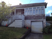 Grey lynn villa renovation - Existing villa before photo