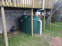 Tank and plumbing installation by Direct Plumbing Limited