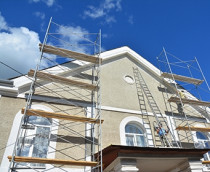 DJ Painting for Exterior Painting - An old, tired exterior can really bring down the aesthetics and property value of your home or business, but DJ Painter can work wonders on your exterior