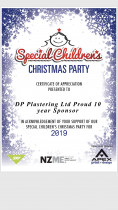 Sccp 2019 - Special children's Christmas party 2019