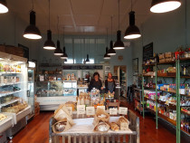Mars Salt and Sweet - This is a delicatessen in Point Chev. Total re-wire with power and lighting as required through out store, kitchen and freezers.