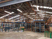 Commercial installation - This was a re-fit of an old dark and dingy building for a car wrecker in Henderson. We turned a dark old shed into a fully function parts warehouse with sensor controlled lighting in the aisles