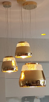 Elegant lighting - These very heavy lights I installed in St Mary Bay Auckland.