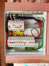 After... - This switchboard was the end result of another complete re-wire in Kingsland.
