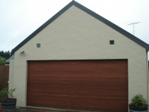 Garage after paint by H2GLO Services