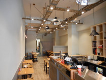 CAFE EIGHT Auckland Central New Cafe (Shop Fit-Out) by Hall Electrical Services Ltd