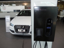 CCS AUDI Newmarket e-tron Charging Stations by Hall Electrical Services Ltd