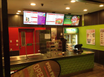 PITA PIT Nationwide Digital Menu Display Roll-out by Hall Electrical Services Ltd