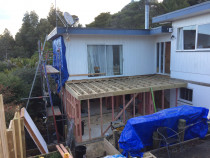 Glenfield North Shore - Basement conversion into 2 new bedrooms, 1 bathroom and a new internal deck above off existing lounge