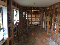 Hauraki North Shore - Full internal house Reno well underway. New bathroom, new Kitchen, and insulation throught with all new gib board making it new again.