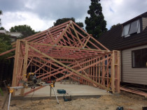 Browns Bay North Shore - New double garage