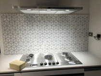 Kitchen splash-back by HEK Tiling Ltd team - Mosaic installation at kitchen splash back in Aotea