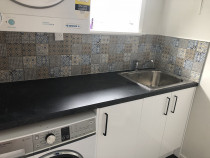 Splash back with Pattern Tiles - High quality job with pattern tiles in Johnsonville
