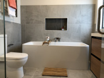HEK Tiling Ltd - Bathroom - Our recent big project just completed 600x600 on wall and floor