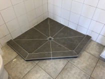 HEK HEK Tiling Ltd -Shower floor - Done in Newlands