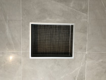 Box in shower by team at HEK Tiling Ltd - Completed 15 of these boxes