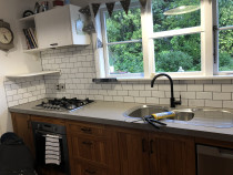 Kitchen splash-back b HEK Tiling Ltd Team - Completed in Pukerua Bay