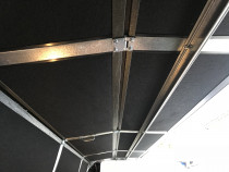 Insulation of garage door - Factory fitted super insulation to keep your garage warm in winter, and cool in the summer. Contact Hibiscus Garage Doors for a quote.