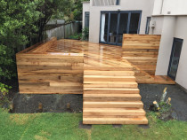 Vitex deck in Ellerslie