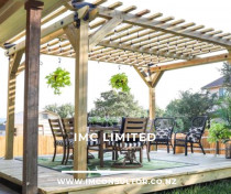 Decking and pergolas building services.